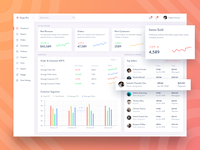 Online Stores Co-pilot Dashboard