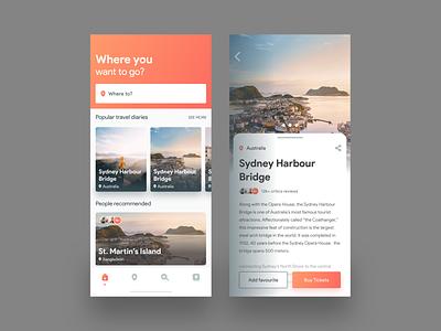 Travel App- Explore & Booking traveling app design app travel guide travel agency mobile ui mobile app hotel booking tour travel booking app travel app