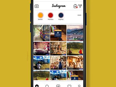 Diseño de Contenido Social media para PeruRail design posts social media