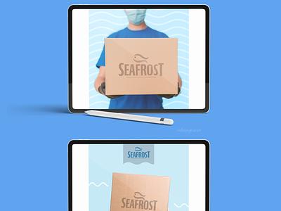 Packaging para Marca de productos marinos graphic design packaging