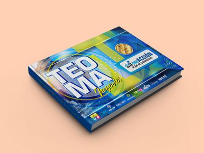 Diseño de Revista para Teoma design graphic design