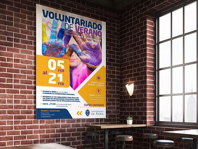 Banner publicitario para Universidad de Piura graphic design