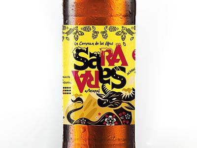 Packaging para Cerveza artesanal peruana ayacuchana graphic design packaging