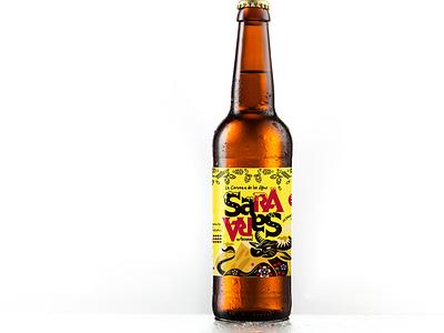 Packaging para Cerveza artesanal peruana ayacuchana cerveza artesanal graphic design packaging
