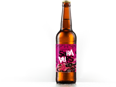 Packaging para Cerveza artesanal peruana ayacuchana cerveza artesanal packaging graphic design