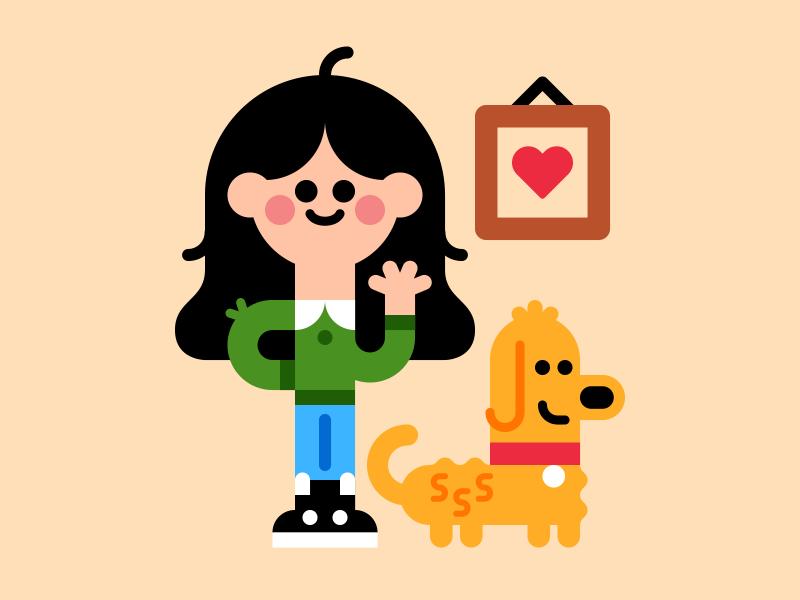 Elsa character vector dog cute tosta somebodyelsa