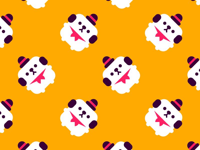Momo pattern vector cute pattern momo