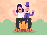 Cauldron couple 01
