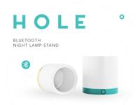 H O L E — Bluetooth Lamp Stand