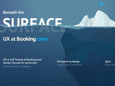 Beneath the Surface: UX at Booking.com