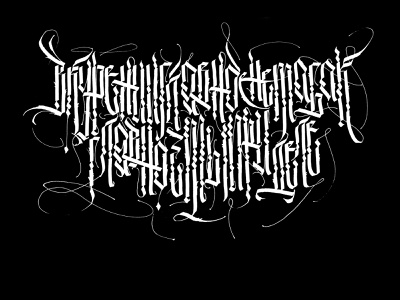 Pro Tabaco letters illustration design typography cyrillic gothic lettering handwritten calligraffiti calligraphy