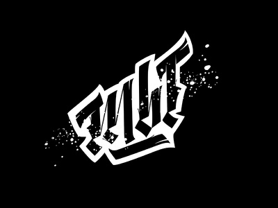 Hey, you. letters illustration design typography cyrillic gothic lettering handwritten calligraphy calligraffiti