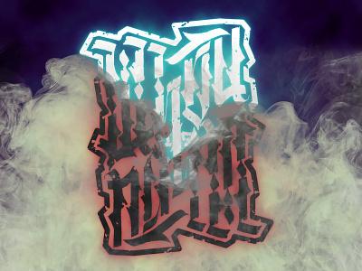 Whoй is Whoй blackletter design illustration typography gothic lettering handwritten calligraphy calligraffiti