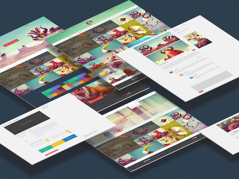 voxual_site (w.i.p) web design ui ux