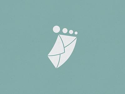 Mailkicker logo design mail email