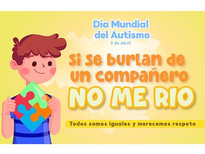 Sarahi Ibarra Chávez Cartel. Dia mundial del Autismo