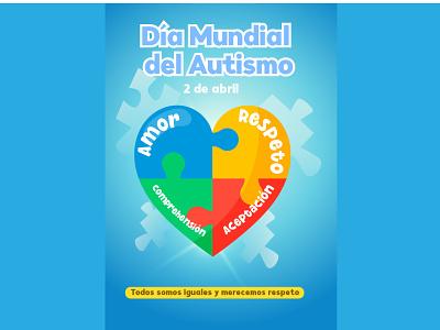 Sarahi Ibarra Chávez Cartel. Día mundial del autismo