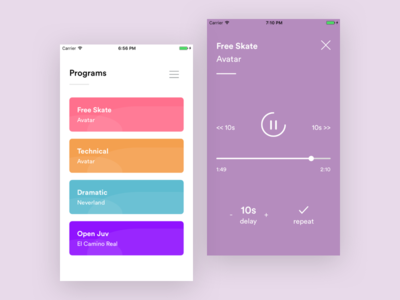Windup design app concept app ux ui