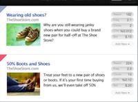 Facebook Ad iPhone App