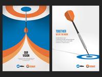 Aspirational Dart Posters