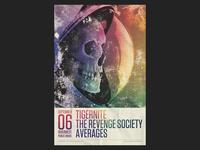 Skullstronaut Gig Poster