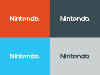 nintendo logo redesign by joshua paynter dribbble