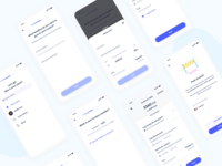 Invoice creation flow on mobile - Shine ux ui customer client tool invoicing quote invoice money mobile neobank fintech bank app