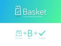 Basket Logo - Grocery Shopping list app