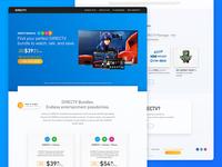 DirecTV Bundles presentation - landing page