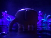 Elephant magic night elephant animation design render c4d illustration character 3d