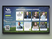 University at Buffalo Digital Signage