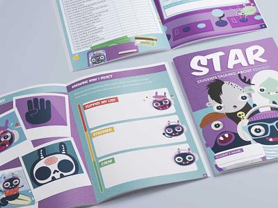 FMC Star branding vector illustration design