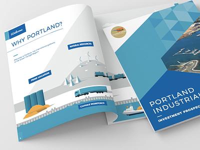Portland Industrial Investment Prospectus design