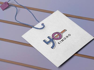 Yo-Kimono typography branding