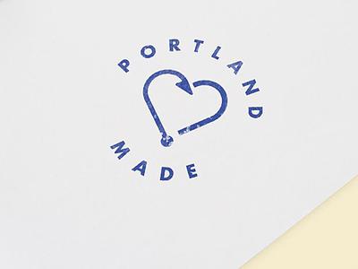 Portland Made branding illustration design