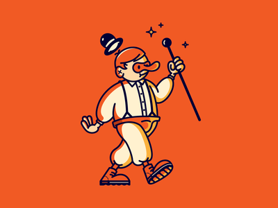 A Orange Clockwork illustration