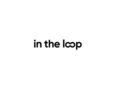 In The Loop animation branding blog testing research maze motion design motion graphics logo animation