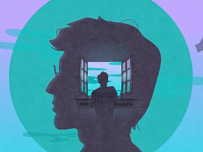 Canva Design School | 40 Lessons from Famous Graphics Designers graphic design silhouette color circle window designer illustration