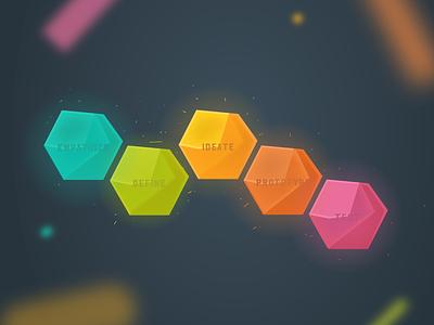 Canva Design School | Design Thinking color gems canva design thinking graphic design illustration