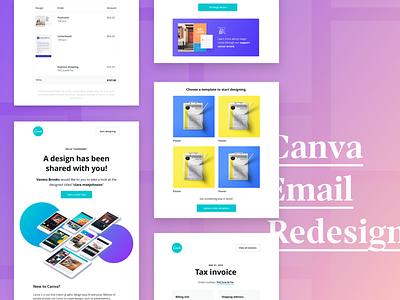 Email Redesign digital design email design email