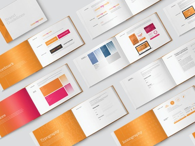 CoverMyMeds Brand Guidelines publication design identity brand guidelines