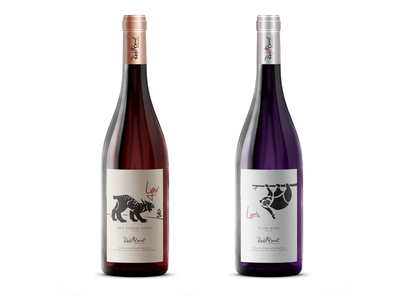 Red Beast Wines - more labels branding alcohol label wine