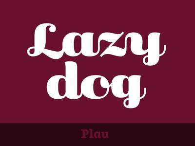 Primot Typeface work in progress