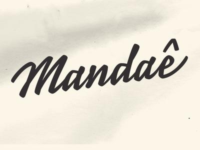 Mandae Lettering Rough