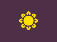 Sun/flower/Heart symbol