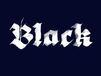 Black Blackletter