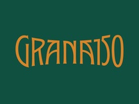 Granado 150 Lettering