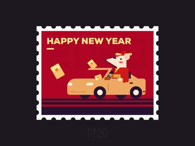 Happy year of rat