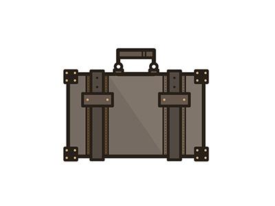 Luggage travel bag illustration vector luggage