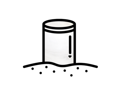 Rest in peace flat icon rest death urn illustration vector